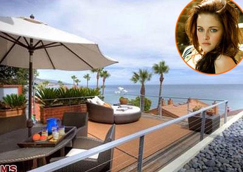 Biệt thự thơ mộng bên biển của Kristen Stewart