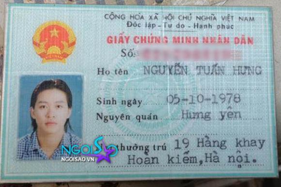 Tủ hồ sơ sao Việt (P18):  Ca sĩ Tuấn Hưng