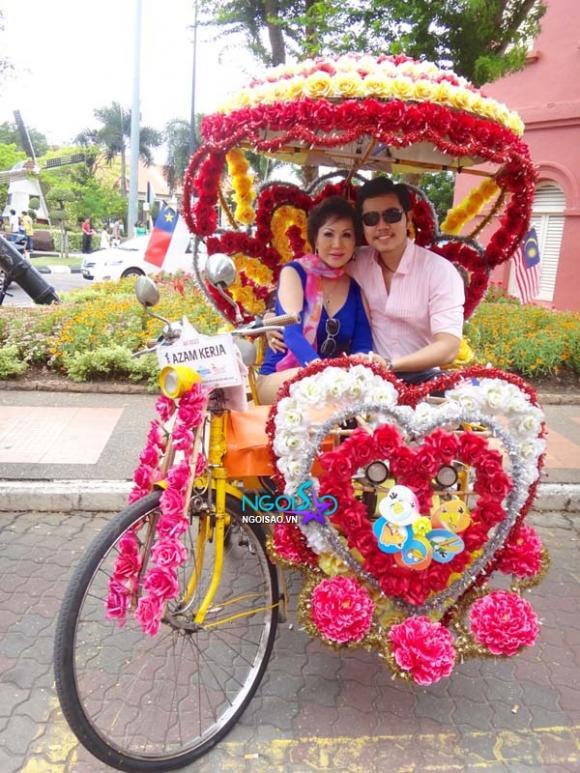Vũ Hoàng Việt và Yvonne Thúy Hoàng 'say sưa men tình' ở Malaysia