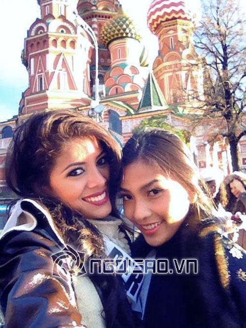 Truy tìm cô bạn 'dính như sam' với Trương Thị May tại HHHV