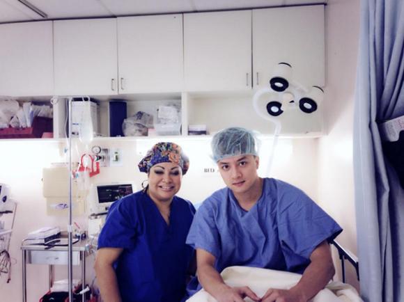 Cao Thái Sơn đã tỉnh sau ca phẫu thuật ở Mỹ