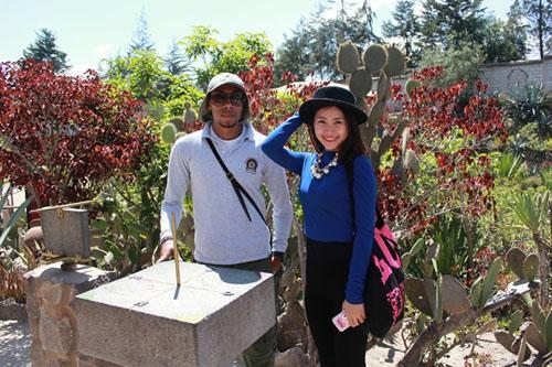 """""""Miss Teen"""" Diễm Trang giao lưu văn hóa tại Ecuador"""