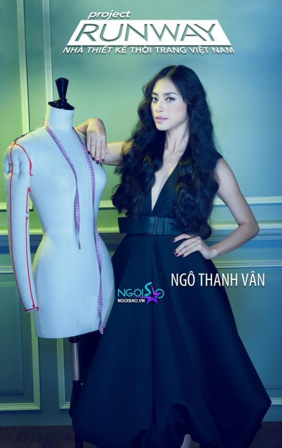 """Ngô Thanh Vân làm """"host"""" chương trình Project Runway Việt Nam"""