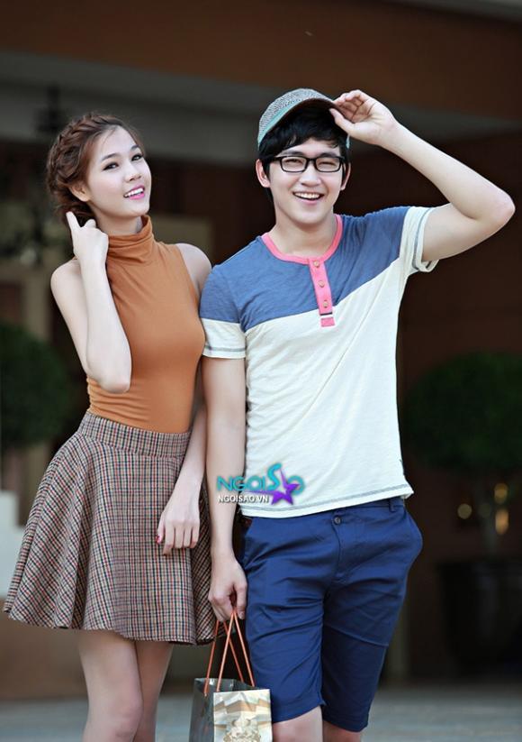Kỳ Hân 'trốn' bạn trai xuống phố cùng Võ Cảnh ngày 8/3