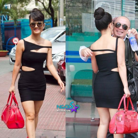 Giám khảo Hồng Nhung diện váy cut out 'táo bạo' hơn sao Hollywood