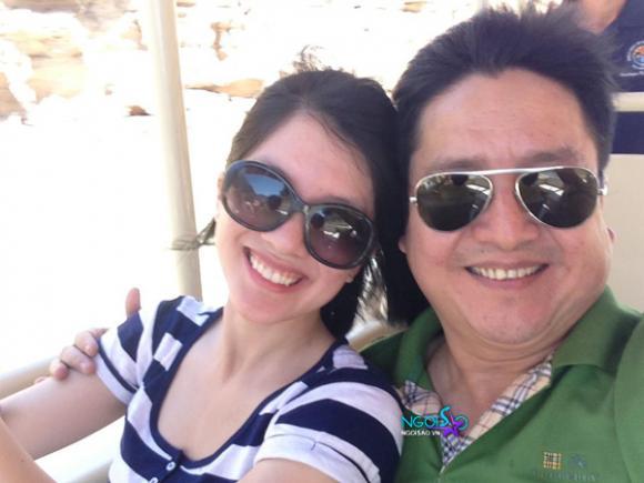 Vợ chồng Chí Trung qua Mỹ thăm con gái xinh như hotgirl