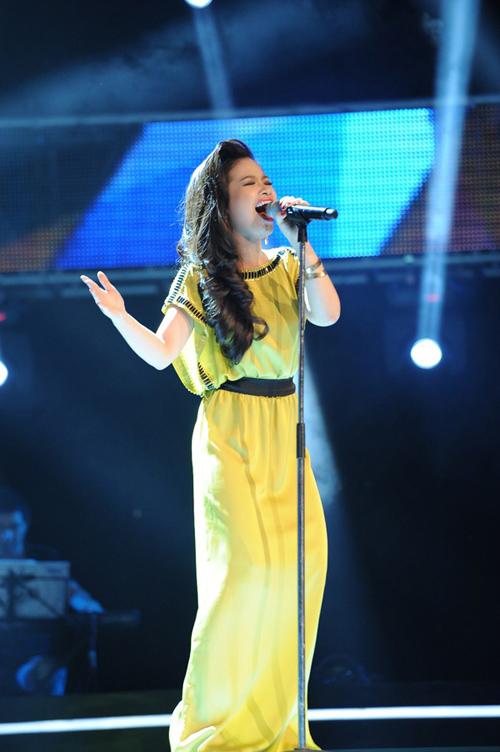 Dương Hoàng Yến The Voice: 'Bạn trai ủng hộ tôi rất nhiều'