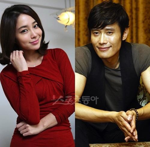 Chuyện tình 7 năm đẹp như mơ của Lee Byung Hun và Lee Min Jung
