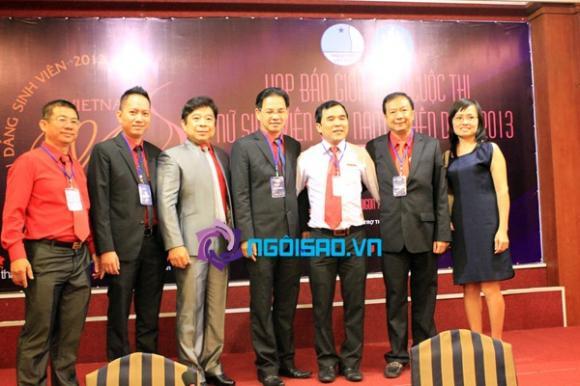 Lần đầu tổ chức cuộc thi 'Nữ sinh viên Việt Nam duyên dáng 2013'