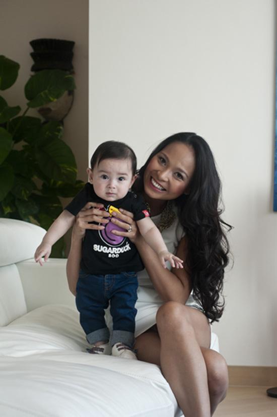 Những nhóc tì là con lai đáng yêu của sao Việt