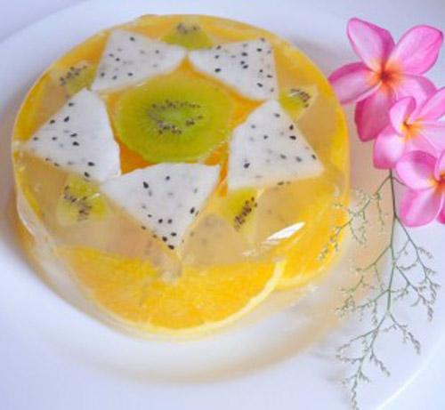 6 món thạch ngọt mát đánh tan nóng hè
