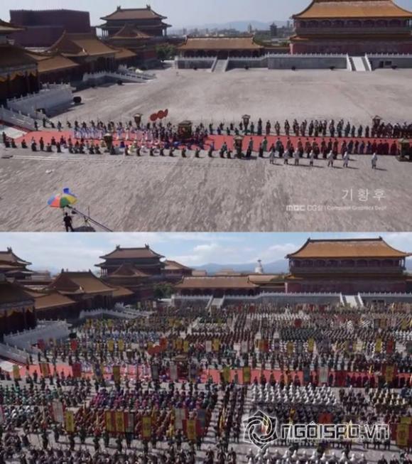 Sự thật sau những cảnh quay hoành tráng của 'Hoàng hậu Ki'