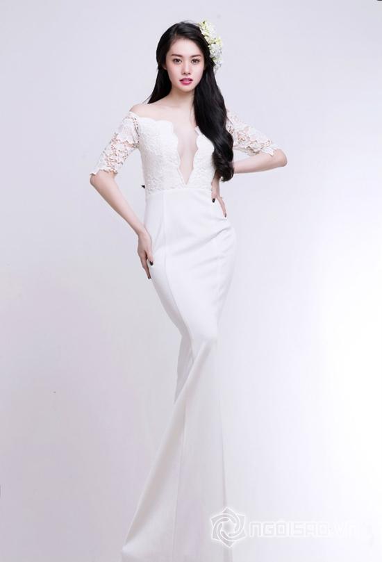 Linh Chi đẹp mong manh với sắc trắng tinh khôi