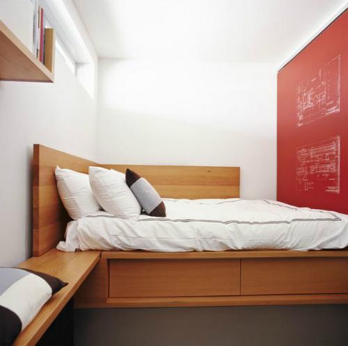 Bí kíp kê giường tận dụng góc phòng ngủ