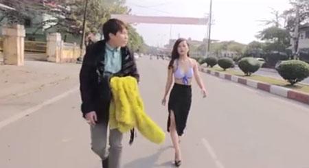 Cô gái lột đồ trong 'Anh không đòi quà' Thái Nguyên bị đuổi học?