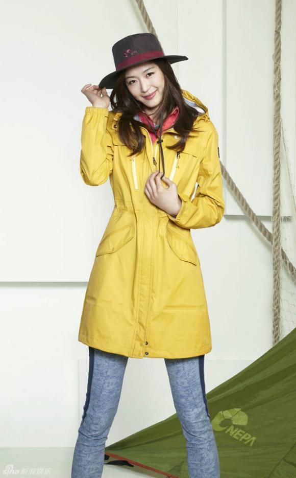 Jun Ji Hyun năng động với thời trang thể thao