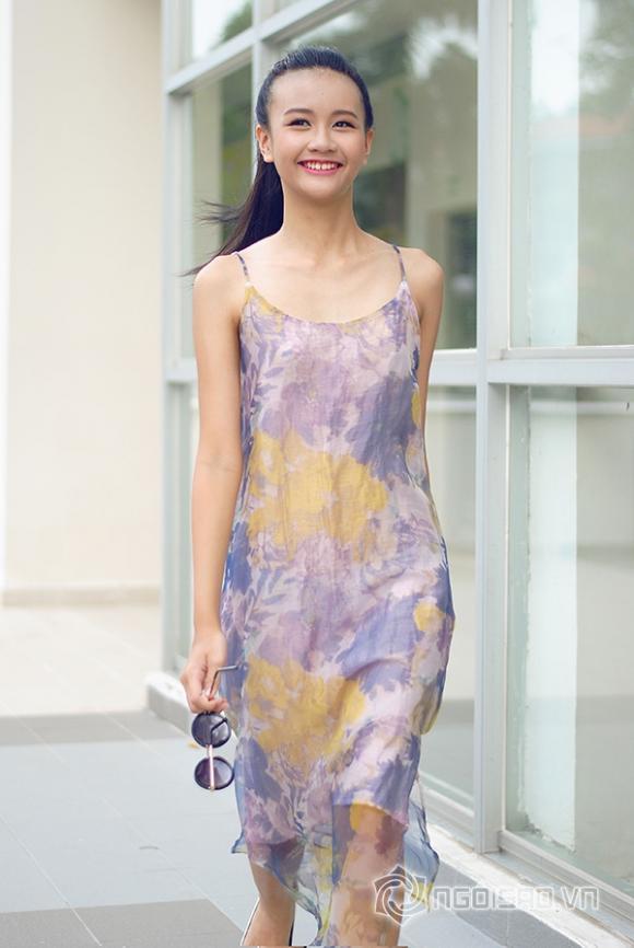 """Lộ diện người mẫu 13 tuổi, cao 1m73 gây """"sốt"""" làng thời trang Việt"""