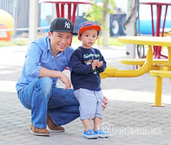 Ngắm hotboy nhí cực yêu của ca sĩ Phạm Sĩ Phú
