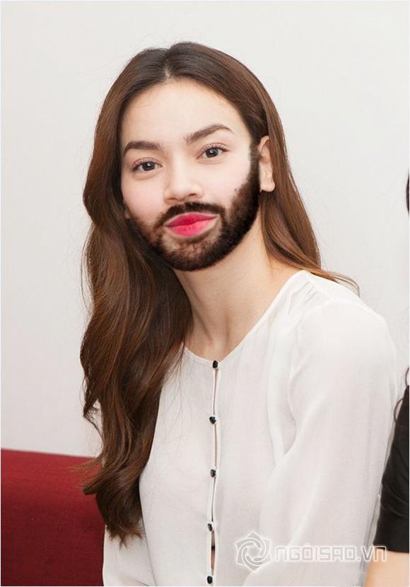 Sao photoshop (P10): Mỹ nhân Việt để râu quai nón 'chất lừ' đâu kém đàn ông