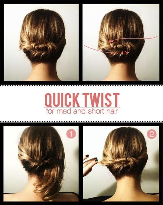23 kiểu tóc đẹp chỉ trong 10 phút khiến chàng mê mẩn