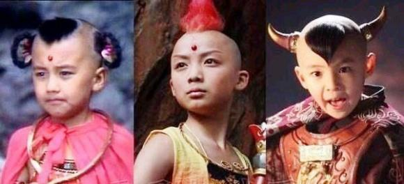 Những diễn viên nhí trong vai Hồng Hài Nhi