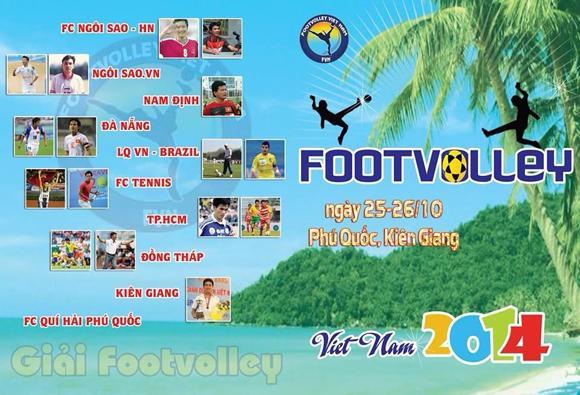 Ngoisao.vn chiến thắng 'nghẹt thở' trận khai màn giải 'Footvolley lần thứ nhất'