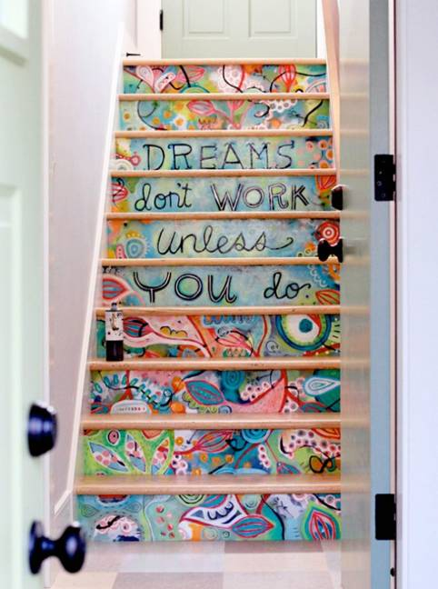 Làm đẹp cầu thang