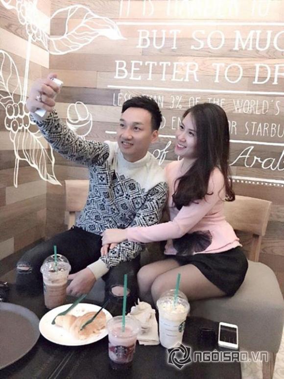 MC Thành Trung bảnh bao đưa bạn gái xinh đẹp đi chơi