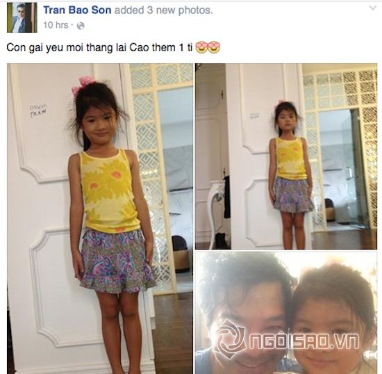 Bé Bảo Tiên sở hữu thân hình dong dỏng cao giống mẹ