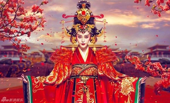 Lộ loạt poster mới đầy quyền uy của 'Võ Tắc Thiên' Phạm Băng Băng