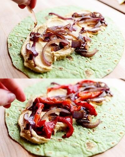 Bánh rau bina cuộn hoa atiso bơ rau thập cẩm siêu lạ (12)