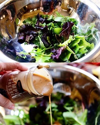 Bánh rau bina cuộn hoa atiso bơ rau thập cẩm siêu lạ (9)