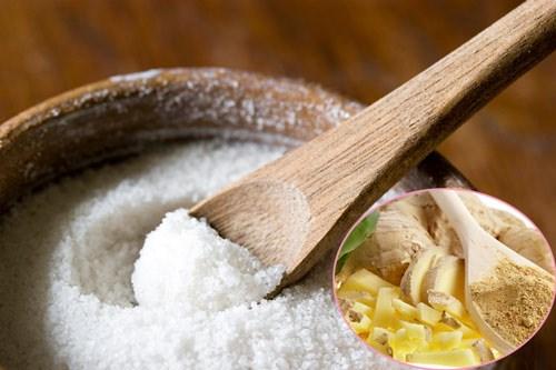 Kết quả hình ảnh cho muối ấm với gừng