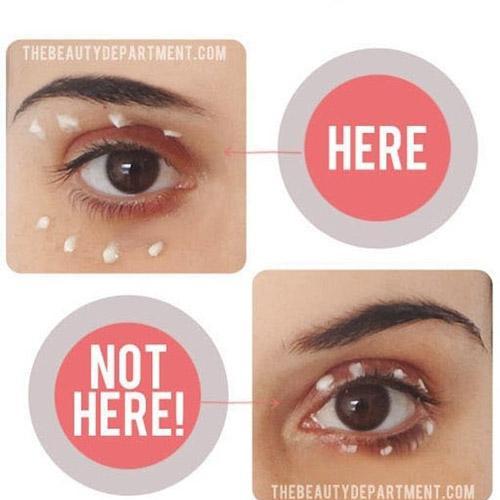 Những lưu ý quan trọng khi sử dụng kem dưỡng mắt