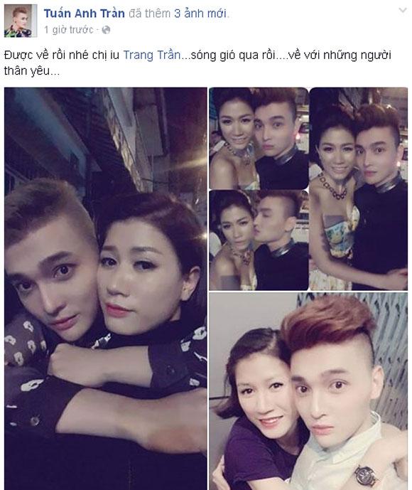 Trang Trần được bảo lãnh về nhà 1