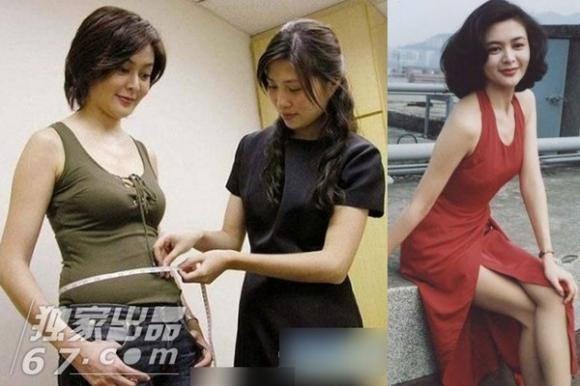 Mỹ nhân Hoa ngữ 'mất điểm' vì thân hình ngấn mỡ