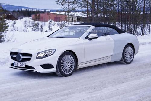 Lộ ảnh Mercedes-Benz S-Class mui trần thiết kế mới - 1