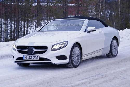 Lộ ảnh Mercedes-Benz S-Class mui trần thiết kế mới - 2
