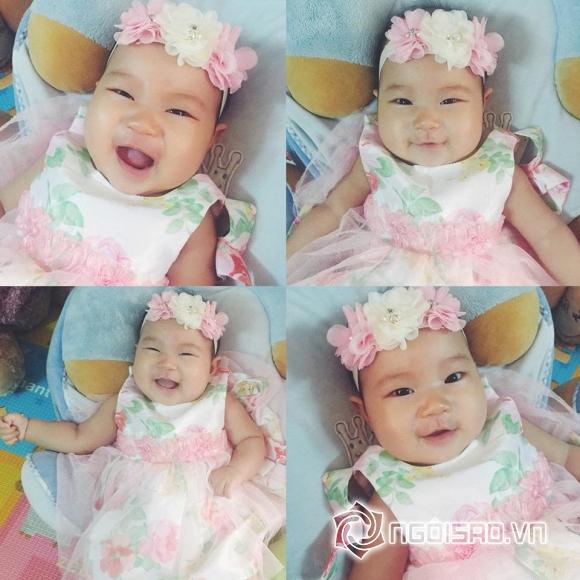 Con gái út Lý Hải mặc váy, cài hoa xinh như công chúa 11