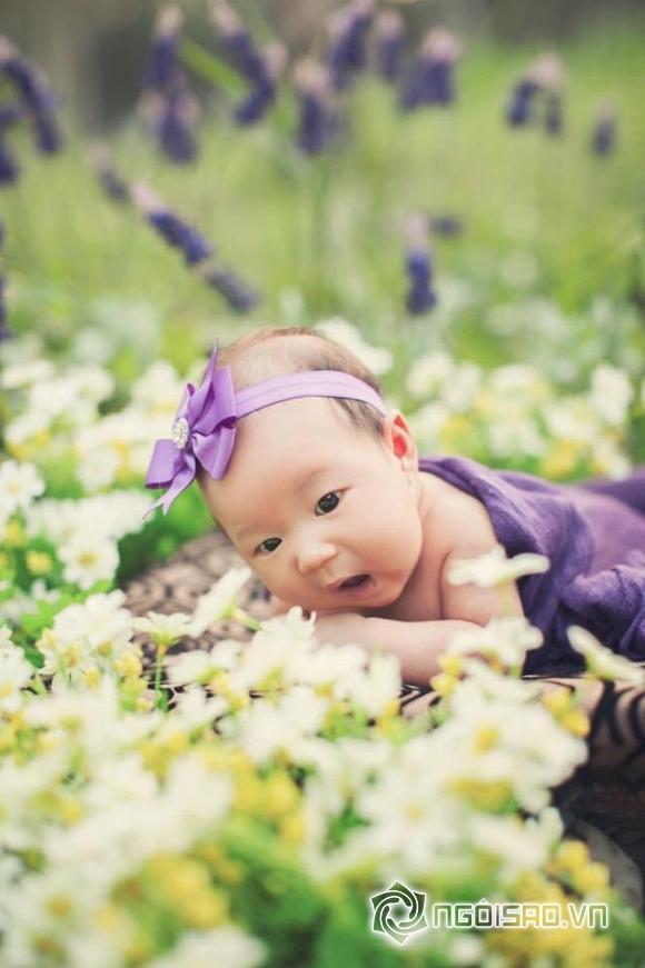 Con gái út Lý Hải mặc váy, cài hoa xinh như công chúa 6