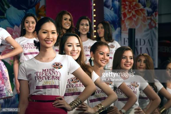 Thí sinh Hoa hậu Chuyển giới Thái Lan 2015 17