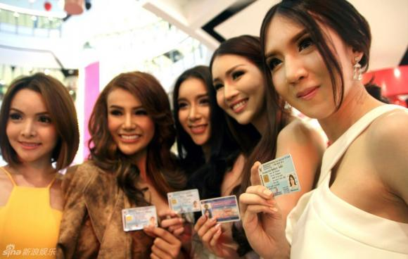 Thí sinh Hoa hậu Chuyển giới Thái Lan 2015 1