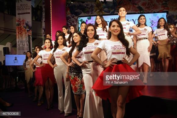 Thí sinh Hoa hậu Chuyển giới Thái Lan 2015 20