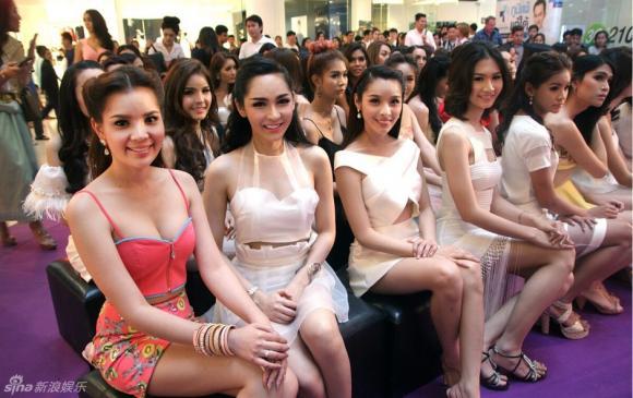 Thí sinh Hoa hậu Chuyển giới Thái Lan 2015 2