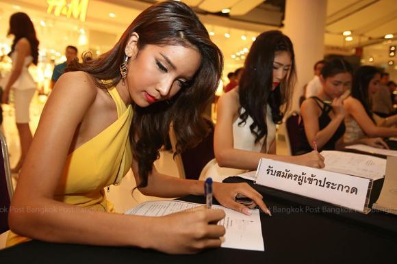 Thí sinh Hoa hậu Chuyển giới Thái Lan 2015 5
