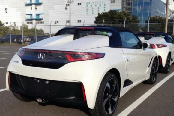 Bắt quả tang Honda S660 2015 sắp lên kệ - 2