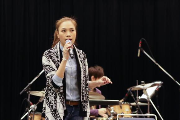 Mỹ Tâm tập hát cùng nghệ sĩ guitar hàng đầu Nhật Bản 0
