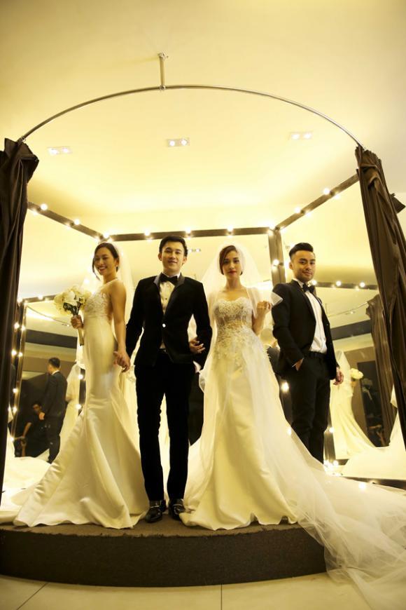 Dương Triệu Vũ làm chú rể bên hai cô dâu xinh đẹp