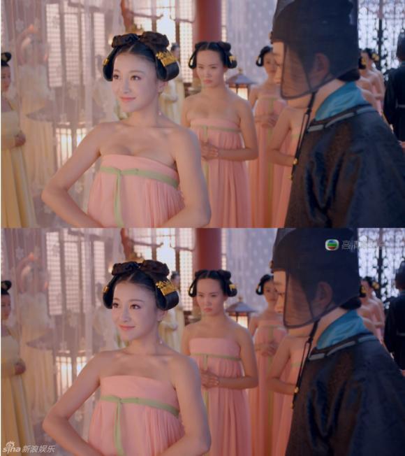 Những màn che ngực ấn tượng của 'Võ Mỵ Nương truyền kỳ' bản TVB