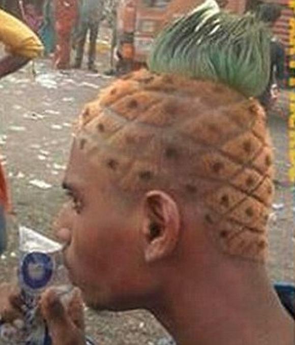 Ảnh hài hước về những kiểu tóc lạ 12